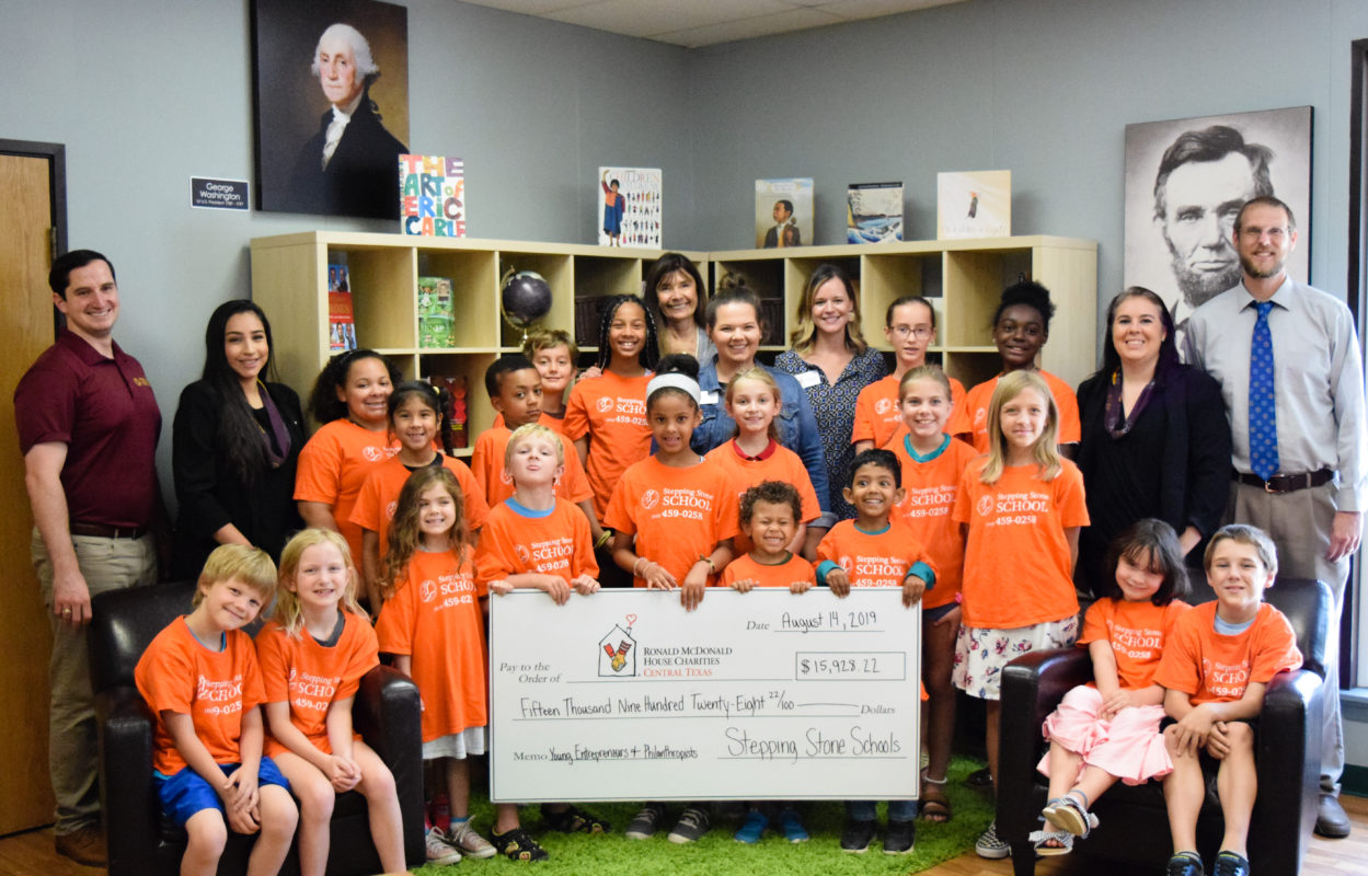 Stepping Stone School Philanthropy