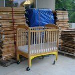 Stepping Stone School donates cribs to Austin Families