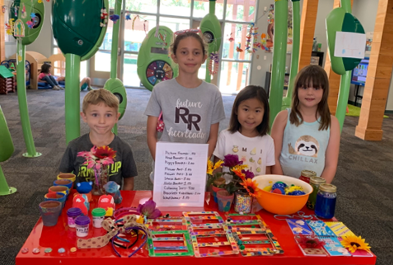 Stepping Stone Students Raise Money For Charity Through Entrepreneurship