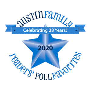 Stepping Stone School Austin Family Reader's Poll Favorite Since 1998