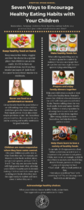 Seven Ways to Encourage Healthy Eating Habits with Your Children