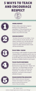 5 Ways to Teach and Encourage Respect   Stepping Stone School