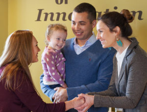 Family welcome at stepping stone school daycare