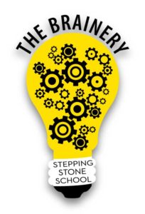 Stepping Stone School - The Brainery™ logo
